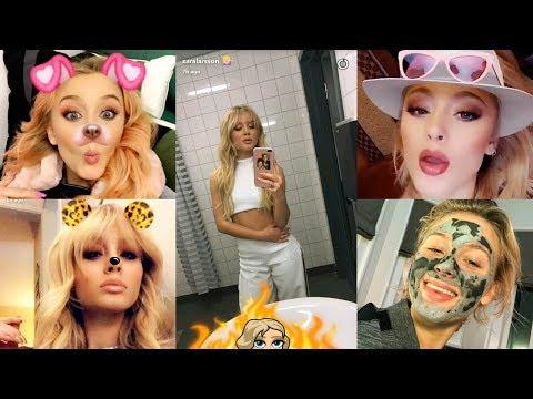 Zara Larsson  Best Snapchat Moments   2