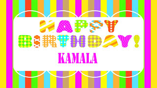 Kamala Wishes & Mensajes - Happy Birthday