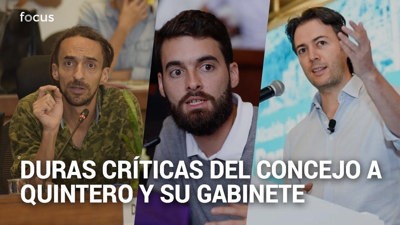 """""""No sean canallas"""": Daniel Carvalho y Daniel Duque arremeten contra Daniel Quintero y su gabinete"""