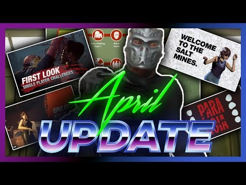 EVERYTHING in April's Update! Friday the 13th: The Game (BIGGEST UPDATE)