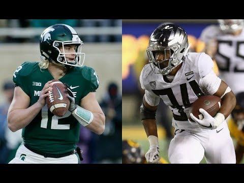 Michigan State-Oregon Redbox Bowl game preview