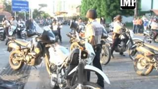 5a enfrentamientos por protestas en av capanaparo y av lara 05 08 2014