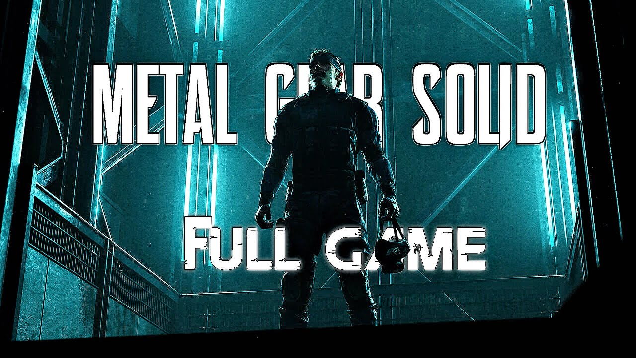 Download METAL GEAR SOLID REMAKE Gameplay Walkthrough FULL GAME (4K 60FPS) No Commentary