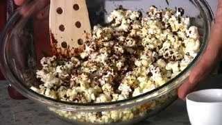Quick & Easy Chocolate Popcorn Recipe : Quick & Easy Recipes