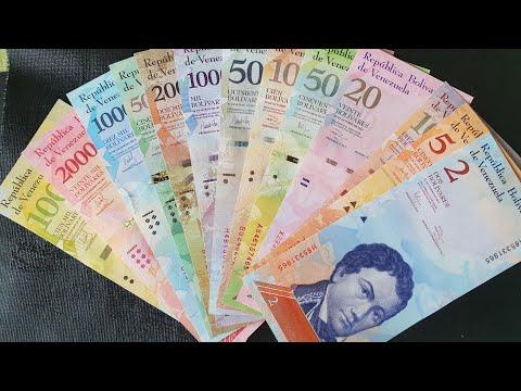 Venezuelans Hyperinflation Banknotes