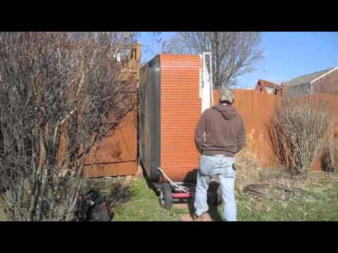 Hot Tub Move Series Jacuzzi J 340 Stand Up Through Gate The Spa Guy Youtube
