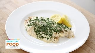 Baked Tilapia With Fresh Herbs - Everyday Food With Sarah Carey
