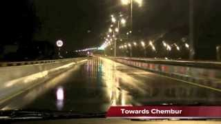 Eastern Freeway Mumbai Full HD 1080 video