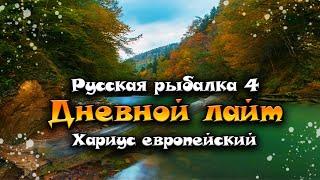 ДНЕВНОЙ ЛАЙТ 1 Й ОТБОРОЧНЫЙ ХАРИУС ЕВРОПЕЙСКИЙ РЫБАЛКА НА РЕКЕ БЕЛАЯ РУССКАЯ РЫБАЛКА 4