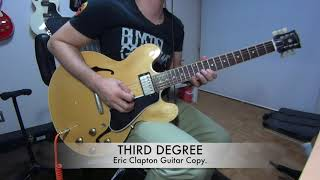 Third Degree - Eric Clapton guitar copy