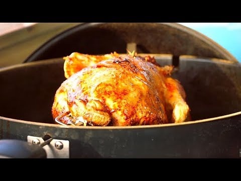 How To Cook Christmas Turkey On A Weber Rotisserie With Richard Holden