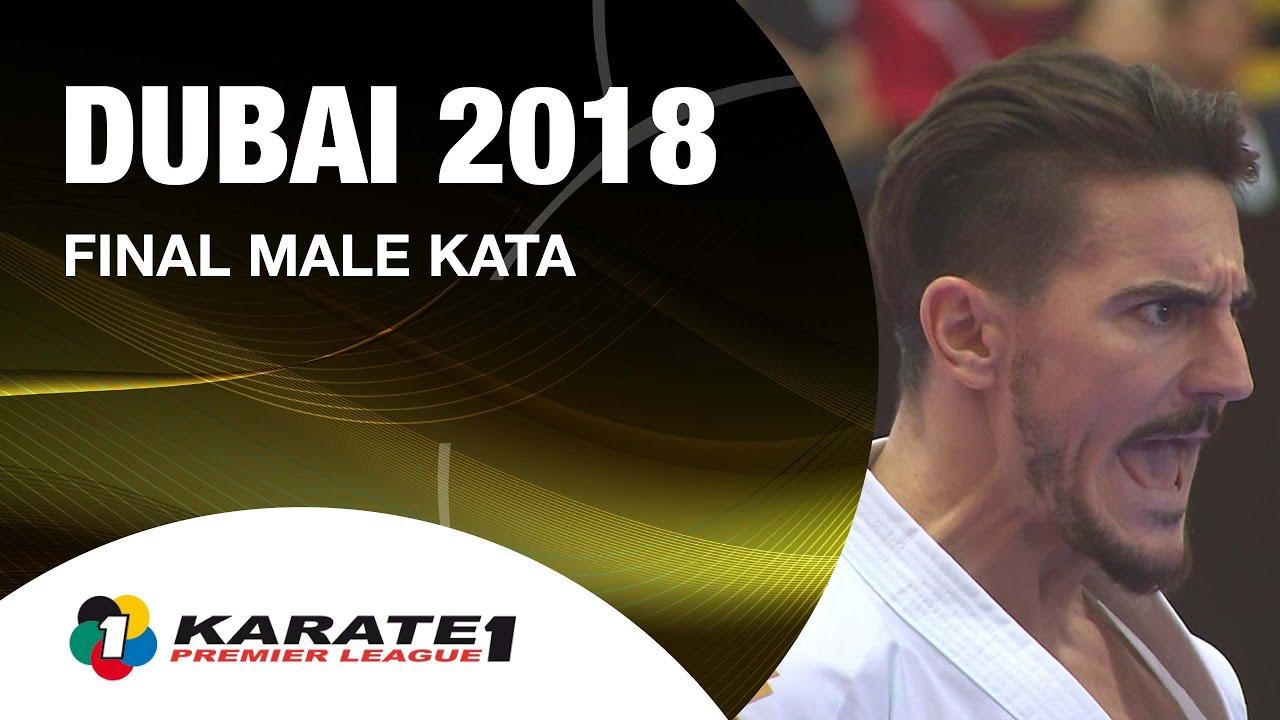 Damian QUINTERO vs Ryo KIYUNA. Dubai 2018 Karate 1-Premier League