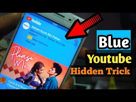 Get YouTube Blue Theme In Any Android