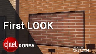 '벽 속에 TV가?' 삼성 QLED TV 엠비언트 모드
