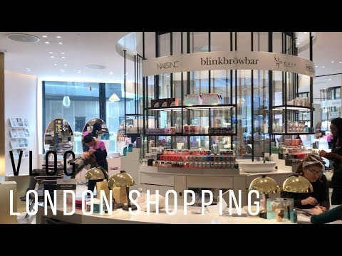 VLOG LONDON BEAUTY SHOPPING AVEC MOI