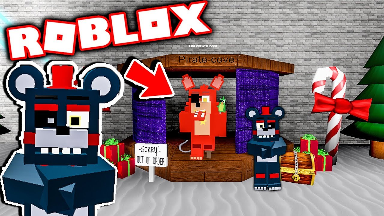 New Fnaf Roblox Animatronic World Christmas Update Five Nights At