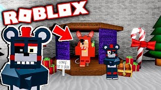 New FNAF Roblox Animatronic World Christmas Update! Five Nights at Freddy's Roblox Animatronic World