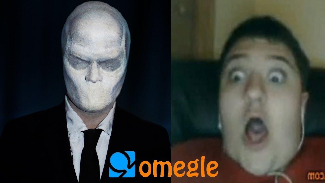 Slenderman goes on Omegle! - YouTube