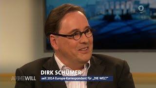 Dirk Schümer provoziert mit unangenehmen Wahrheiten 23.05.2016 Anne Will - Bananenrepublik
