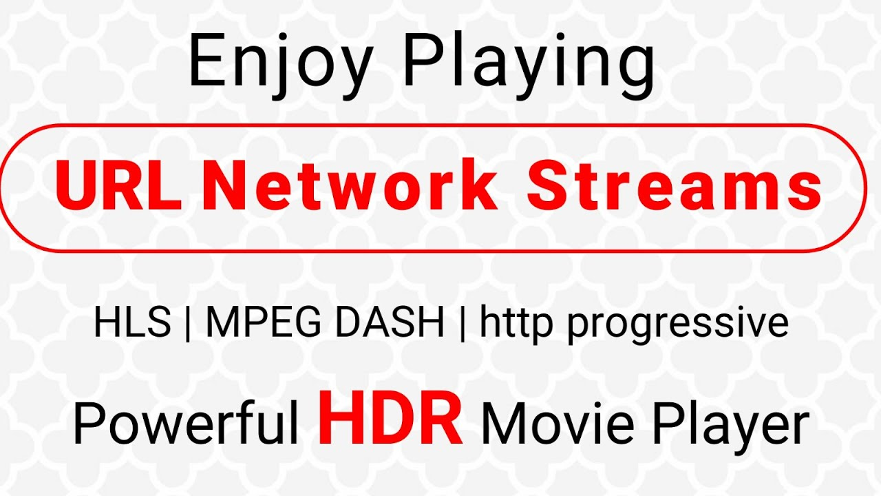 18b930c2 How to Play Network Streams | Watch videos Online | CnX Player - Smooth  Streaming