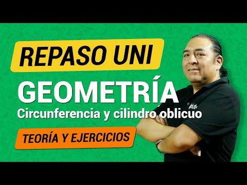 [Repaso UNI] - Geometría - Circunferencia y Cilindro oblicuo from YouTube · Duration:  16 minutes 36 seconds