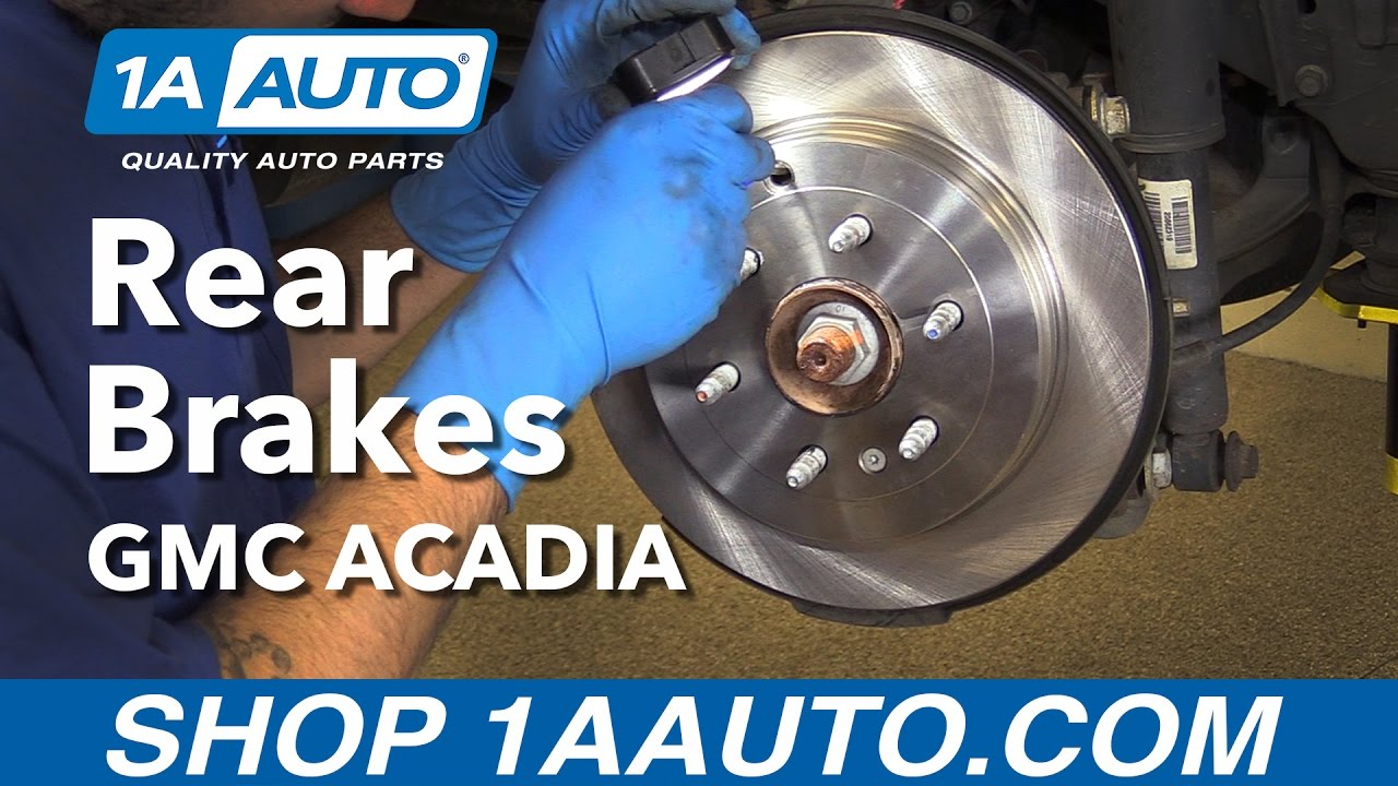 How To Replace Install Rear Brakes 2012 Gmc Acadia Buy Quality Auto Caption Diagram Of The Basic Front Disc Brake Setup Arotor B Parts At 1aautocom Youtube