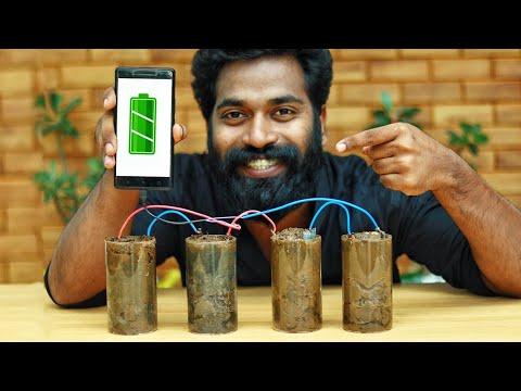 ELECTRICITY MAKING FROM MUD | മണ്ണിൽ നിന്നും വൈദ്യുതി ഉണ്ടാകുന്ന വിദ്യ | M4 TECH |