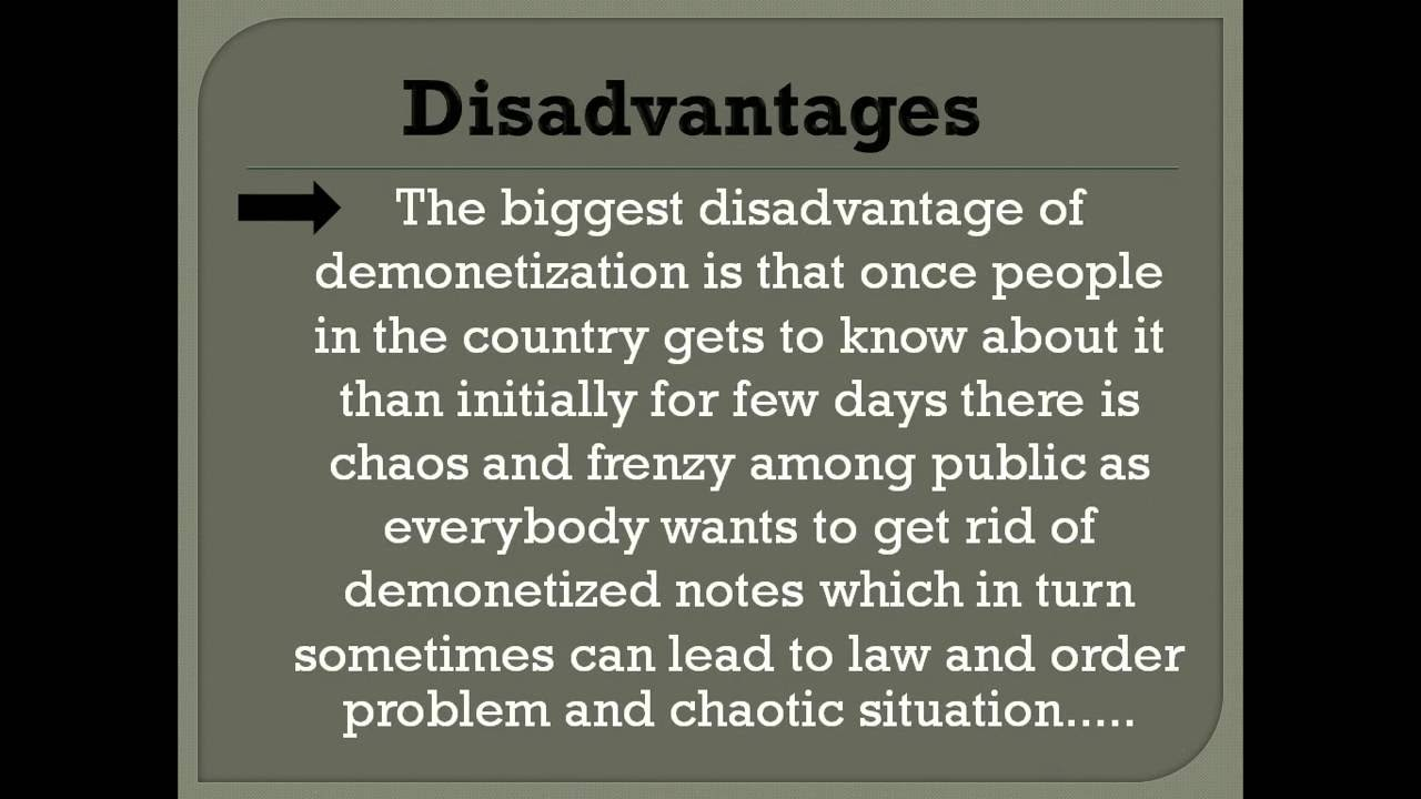 advantages and disadvantages of india