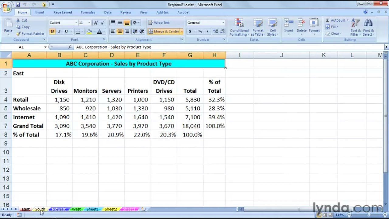 How To Copy And Move Excel Worksheets