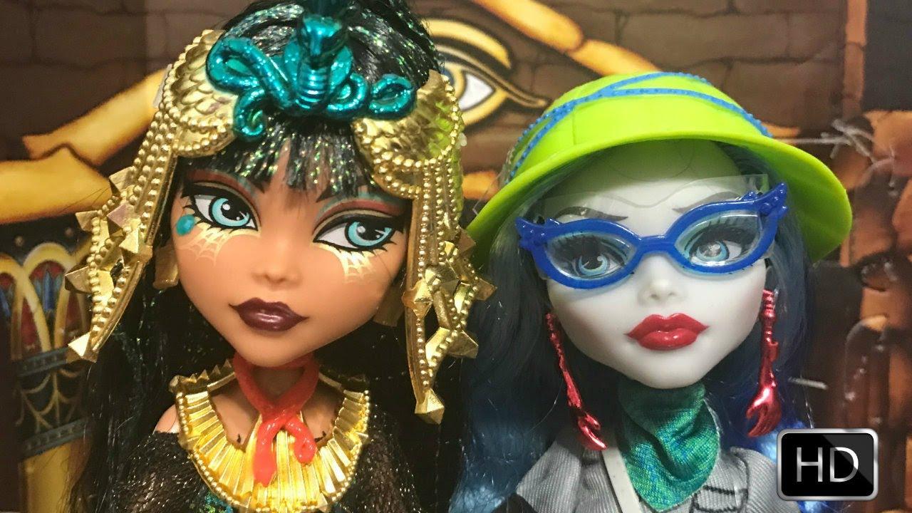 Monster High Cleo de Nile Doll - Walmart.com