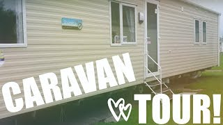 BURNHAM-ON-SEA. PRESTIGE CARAVAN TOUR-NEWER MODEL. OUR CARAVAN THIS YEAR.
