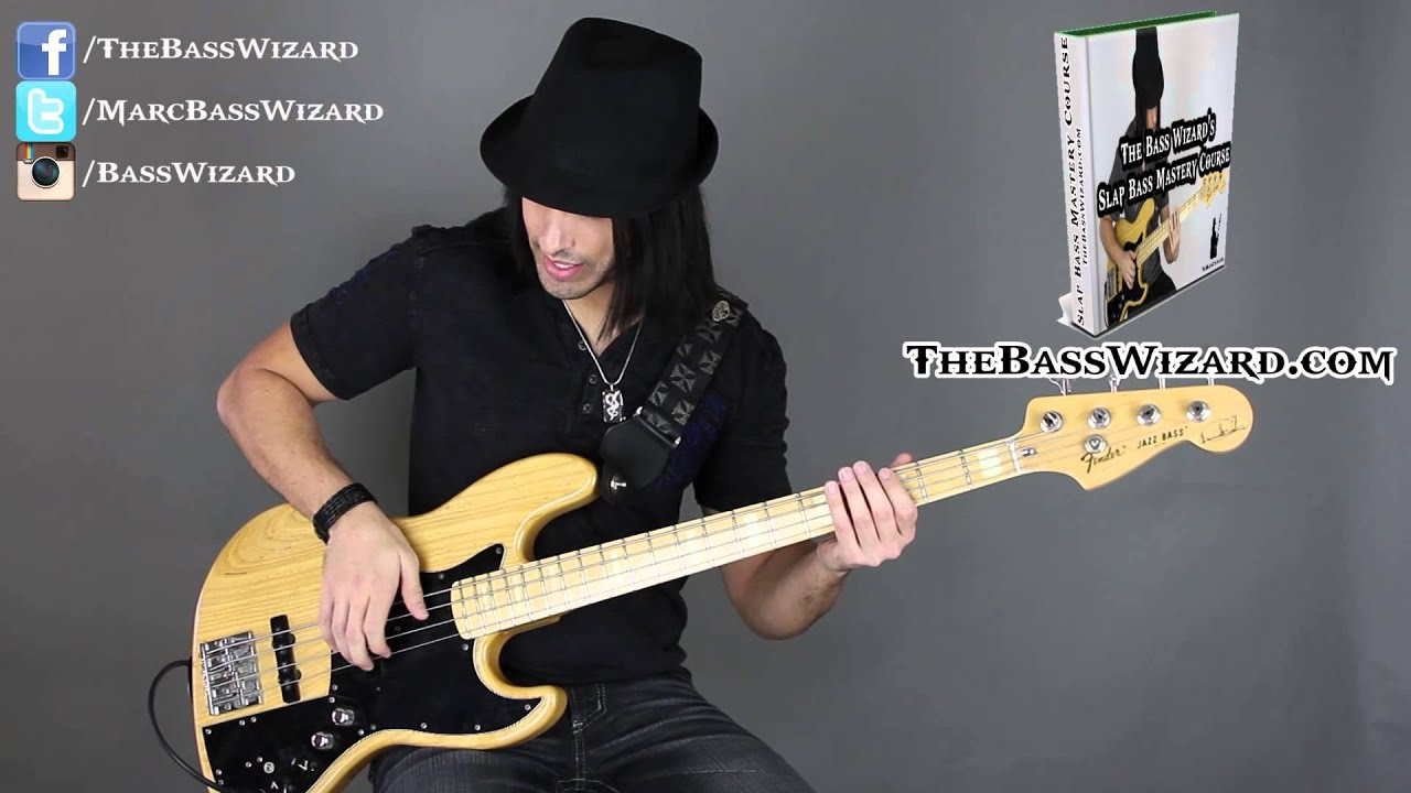 the 1 biggest mistake slap bass players make slap bass lesson the bass wizard youtube. Black Bedroom Furniture Sets. Home Design Ideas