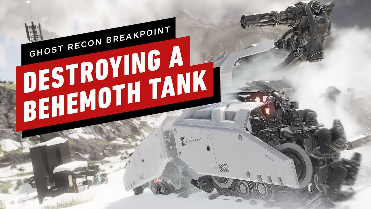 Ghost Recon Breakpoint: The Fastest Way to Destroy a Behemoth Tank thumbnail