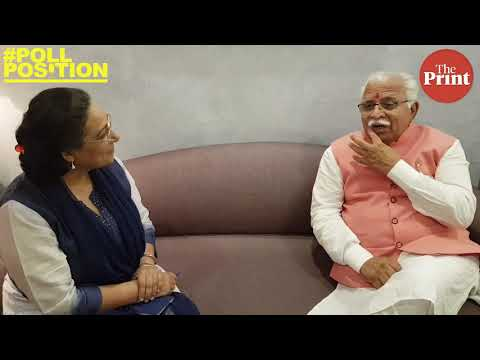 Why can't we seek votes in Modi's name?: Manohar Lal Khattar