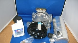 96 99 chevy c1500 suburban ac compressor kit aftermarket air conditioning part