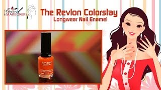 Diwali Special || The Revlon Colorstay - Longwear Nail Enamel || Product Review || The Cloakroom Thumbnail