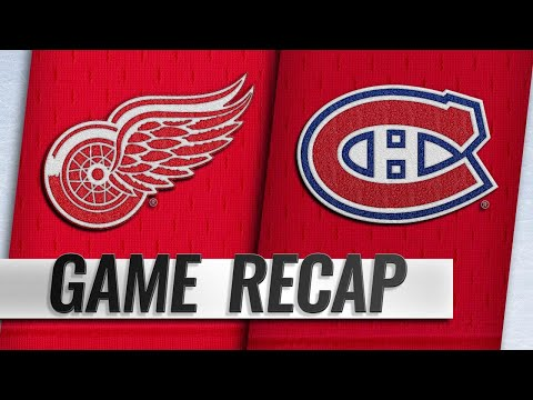 Offense carries Canadiens past Red Wings, 7-3
