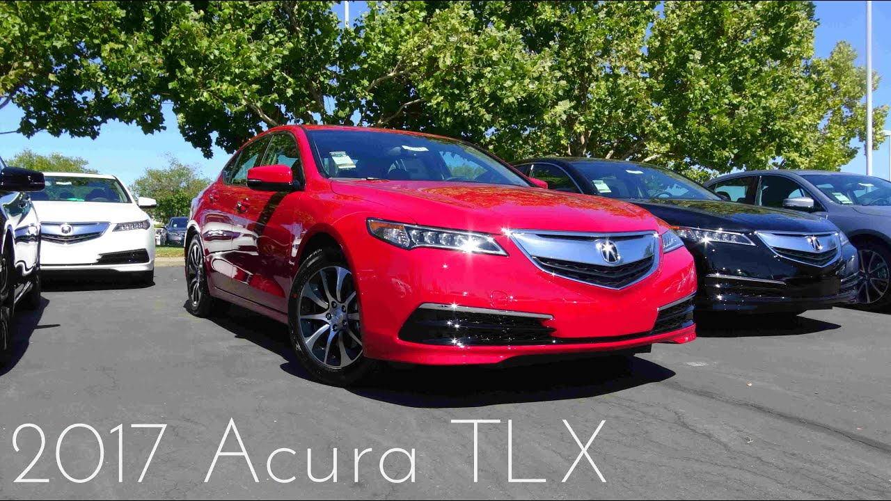 2017 Acura Tlx 2 4 L 4 Cylinder Review Youtube