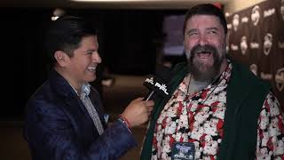 Mick Foley Backstage Interview at Professional Fighters League | PFL 2 2019