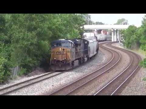 6/7/14 CSX train switching