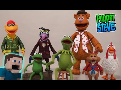 The Muppets Select Action Figure Series 1-Fozzie with SCOOTER