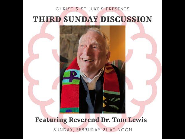 Third Sunday Discussion: Depression, Faith, & Hope