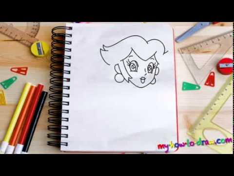 How To Draw Princess Peach Easy Step By Step Drawing Lessons For