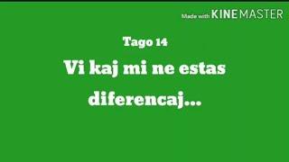14a Tago – Vi kaj mi ne estas diferencaj #30DRYC