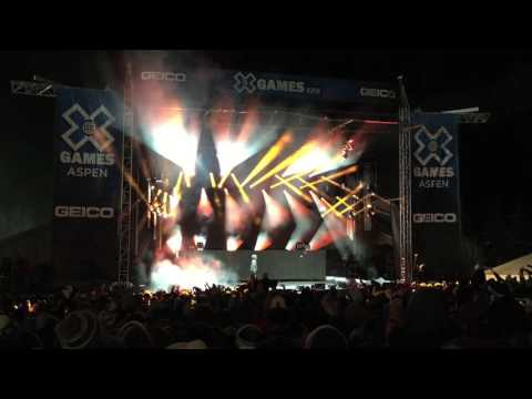 The Chainsmokers Live - XGames 2017 (5 songs)