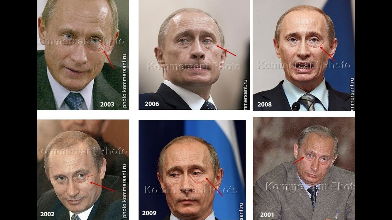 Картинки по запросу Путина нет в живых - это его двойник
