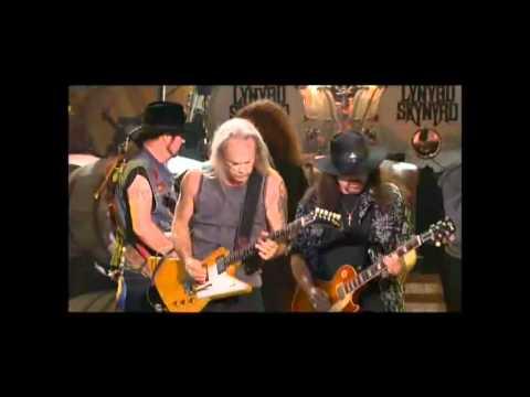 Lynyrd Skynyrd (live) ~ Simple Man ~ Vicious Cycle Tour 2005 With Lyrics (HD)