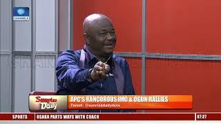 Imo,Ogun APC Rancour: Members Assure Buhari Of Unity, Support Despite Alliances Pt.1 |Sunrise Daily|