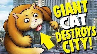 GIANT DEADLY CAT EATS AN ENTIRE CITY?! | Tasty Planet Forever