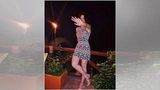 Ángela Aguilar desbanca a Thalía al lucir minicintura en entallado atuendo